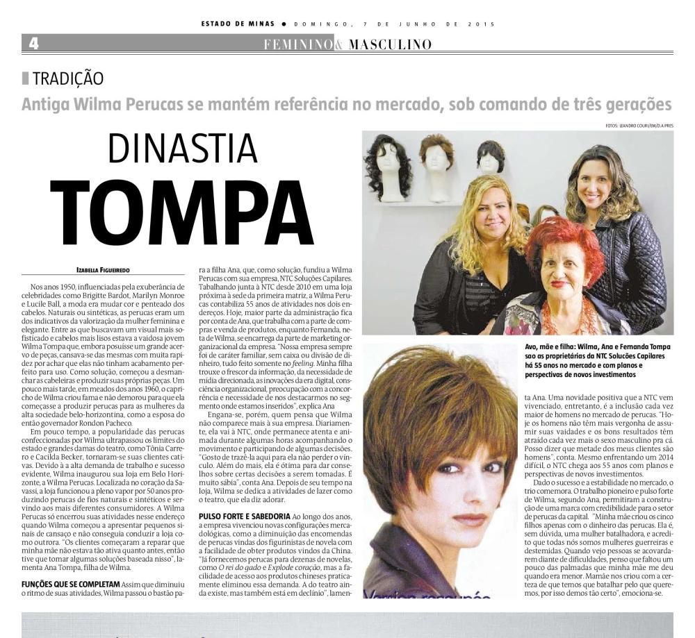 Jornal Estado de Minas - Caderno Feminino