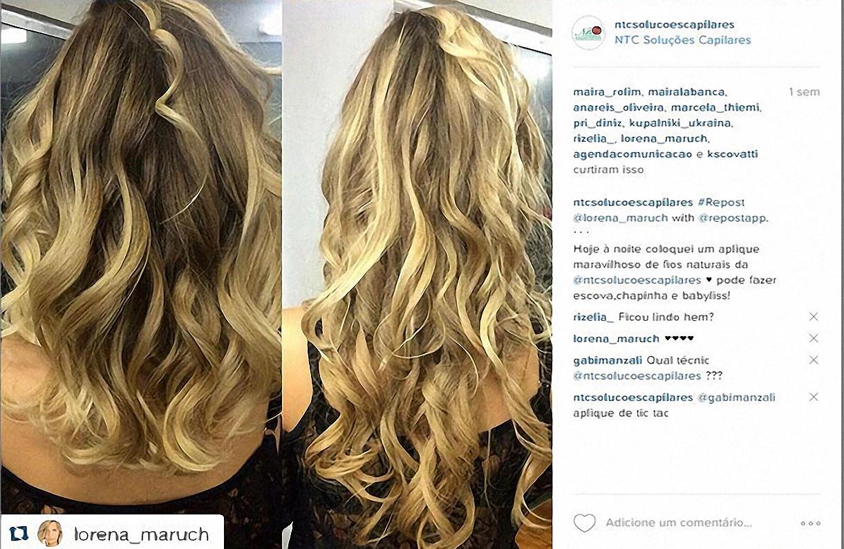 Lorena Maruch antes e Depois