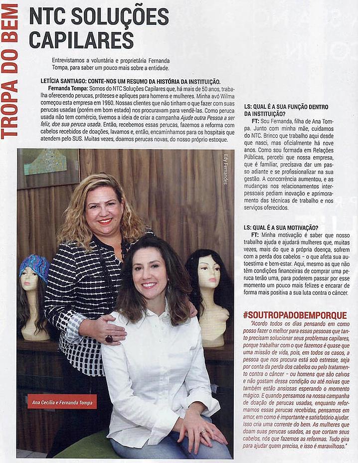 Revista Exclusive coluna Tropa do Bem