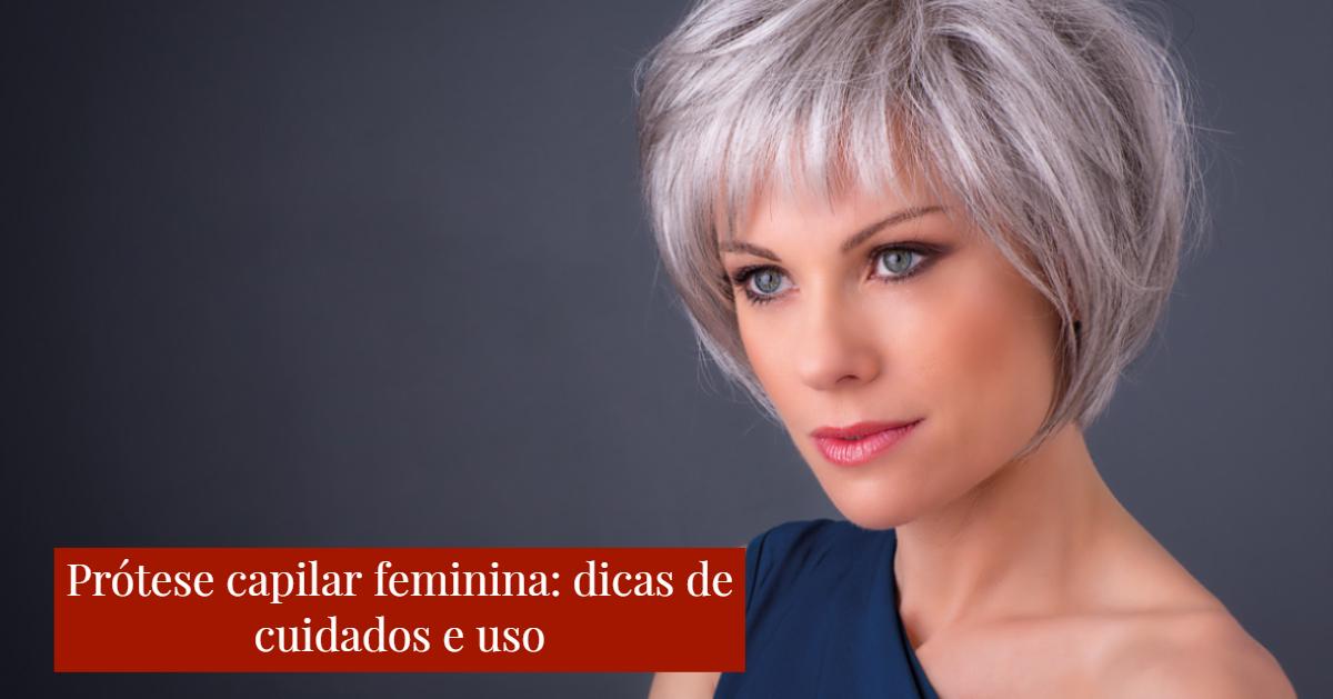 prótese capilar feminina